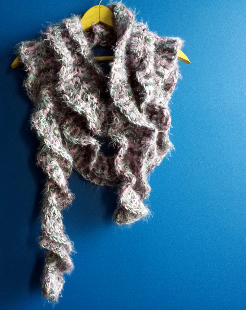 Crochet Scarf Unseign