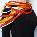 Unseign Fire Rope Scarf