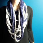 Rope Scarf Crochet Pattern by Unseign