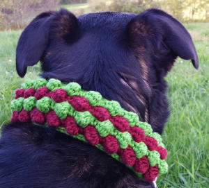 Unseign Bubble Dog Scarf Crochet Pattern