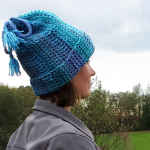 Convertible Hat Cowl Crochet Pattern by Unseign
